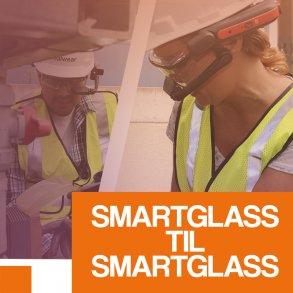 Smartglass til smartglass system
